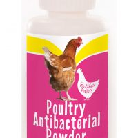 An effective antibacterial preparation for application to minor wounds and scratches on poultry