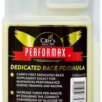 Carr's Performax race formula